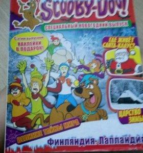Полная колекция карточек и журналов Scooby-Doo!