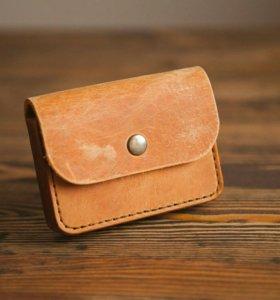 сумочка на пояс из натур.кожи