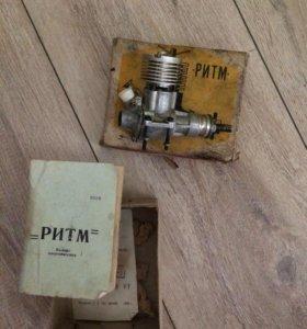 Микродвигатель для моделей