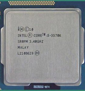 Скальпированный Core i5 3570k Intel 1155