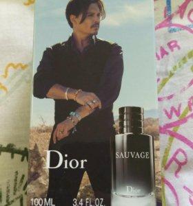 Dior Sauvage 100ml. Запечатанный одеколон.