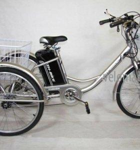 Электровелосипед 6-скоростной.