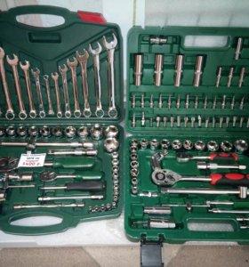 Наборы инструментов 61,78,90,121,150 предметов