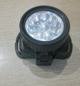 Налобный фонарь 50 руб