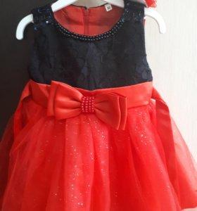 Праздничное платье на годик