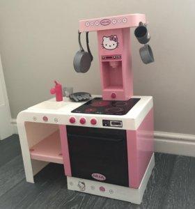 Детская кухня hello kitty