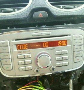 Sony Штатная магнитола Форд Фокус2 Форд Мондео