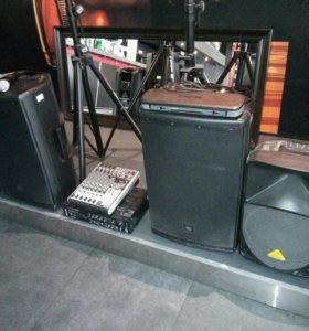 Музыкальное оборудование для бара