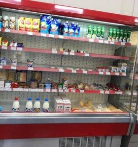 Холодильная горка, витрина Свитязь 190 см