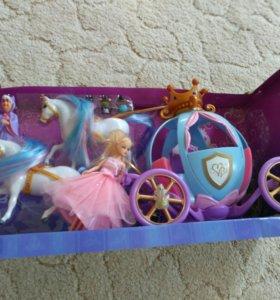 Интерактивная карета с принцессой