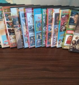 20 DVD-дисков с фильмами