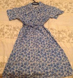 Домашнее платье СССР, 46 размер