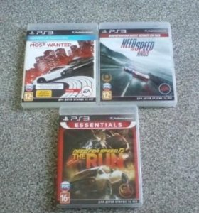 PS3: Need For Speed: Most Wanted(PS Move) и др.