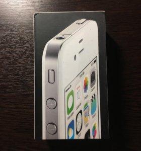 iPhone 4 белый 8GB