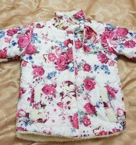 Курточка на 3-5 лет