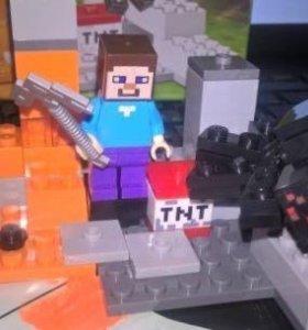 Новый конструктор Майнкрафт Minecraft