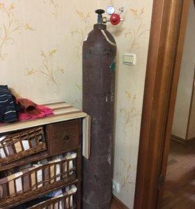 Баллон для гелия 40л + редуктор Редиус БГО-50-4 ВШ