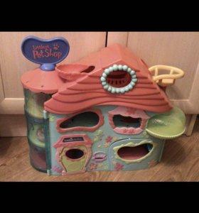 Дом лпс LPS Littlest Pet Shop + подарок
