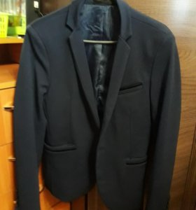 Пиджак синий на парня
