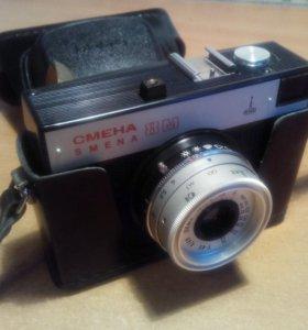 Плёночный фотоаппарат Смена-8м
