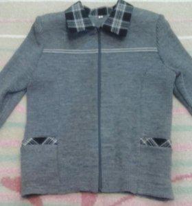 Школьный пиджак ,размер 36/134.( Аврора)