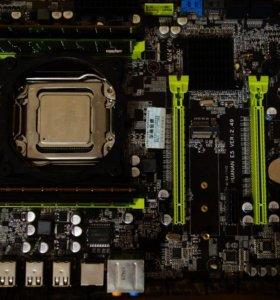 Huanan x79-2011 DDR3-32 Gb Xeon E5-2690