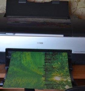 Цветной принтер Epson Stylus Photo 1410