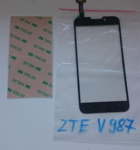 Тачскрин для ZTE V987 черный
