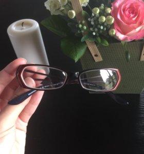 Очки для зрения с диоптриями минус (оправа)