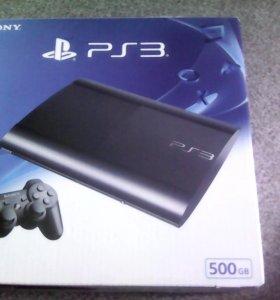 PS3: Super Slim 500gb.