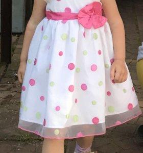 Нарядное платье Gymboree оригинал