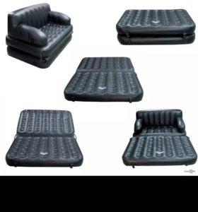 Надувной диван-матрас