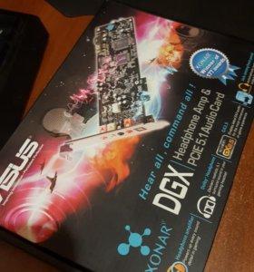 Asus Xonar DGX звуковая карта pci-e x1