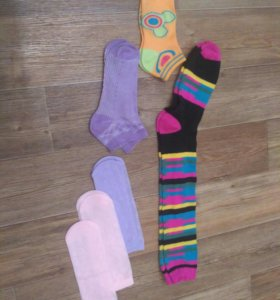 Носки новые на девочку
