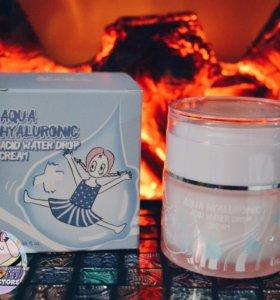 Гиалуроновый крем Elizavecca Aqua Hyaluronic Acid
