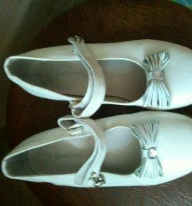 Туфли для девочки рр 31