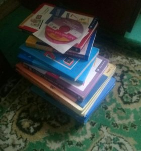 Учебники для 3,7,8,9 классы.