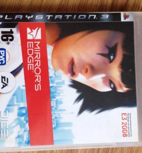 Игра ps3 Mirror's edge