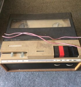 Катушечный магнитофон Дайна. СССР