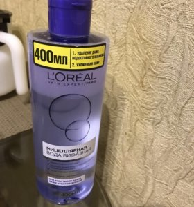 Мицелярная вода Лореаль