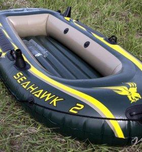 Лодка intex seahawk 2 (2 местная)