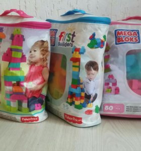 Mega bloks от fisher price