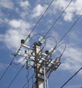 Оказание услуг электрика от 220 до 10000 в