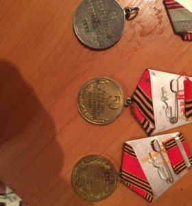 Медали великой отечественной войны !