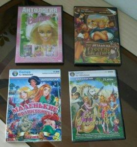 DVD диски, компьютерные игры