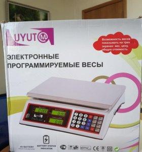 Весы бытовые электронные ACS-769 (40кг-35 кг) LCD