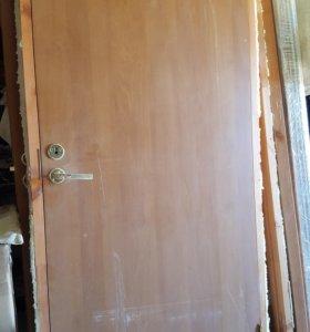 Двери с коробкой+обналичка