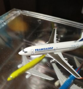 Модель самолета 1:400 Boeing 737-200 Transaero
