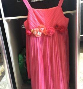 Платье цветочек для девочки