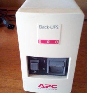 Блок бесперебойного питания Back-UPS 500.